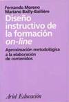 Diseño instructivo de la formación on line