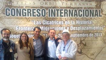 Congreso Internaciona: Las cicatrices de la Historia: Fronteras, migraciones y desplazamientos